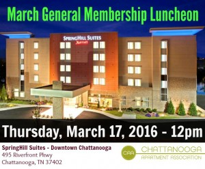 3 - March General Membership Luncheon