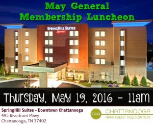 5 - May General Membership Luncheon