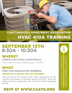 CAA HVAC 410a Training @ Amberleigh Ridge  | Chattanooga | Tennessee | United States