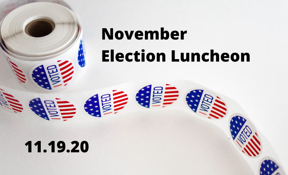 November Election (Virtual Event) @ Webinar/Meeting